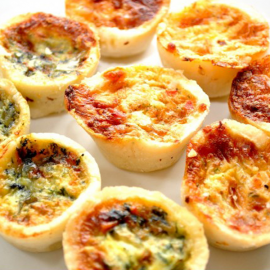 Mini Quiches un.